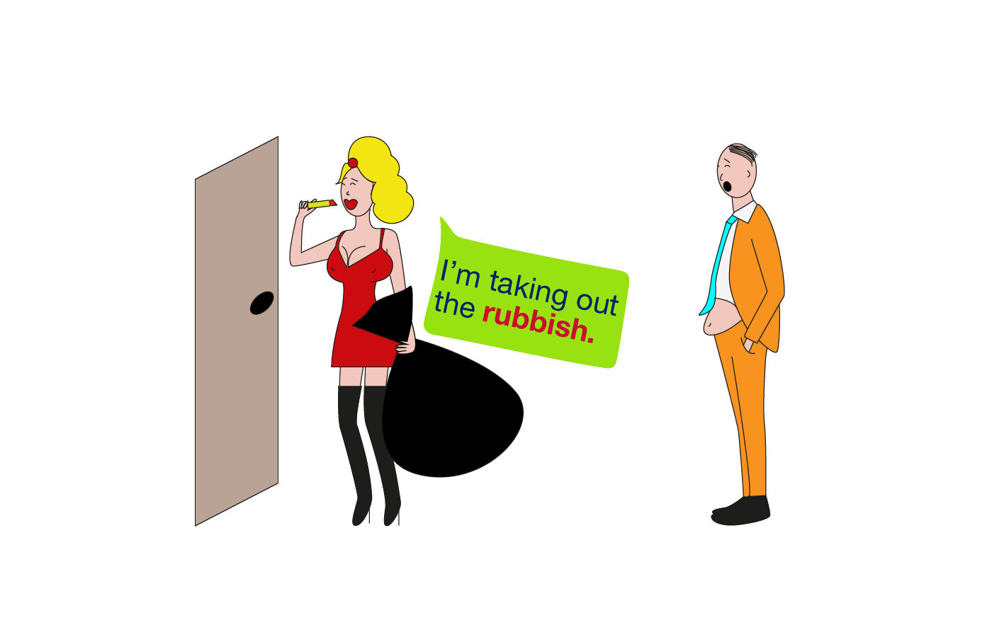 rubbish vocabulary meaning