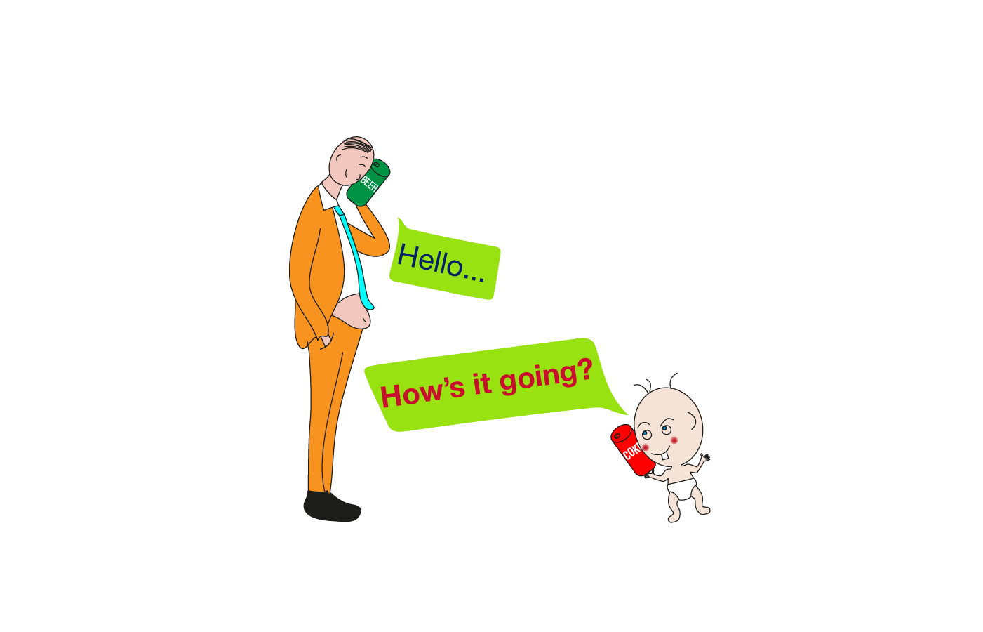 how's it going (greeting) idiom meaning