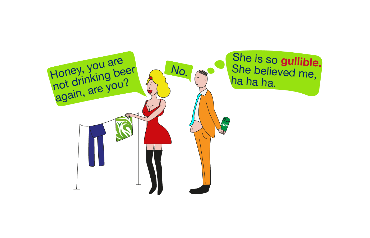 Gullible vocabulary meaning
